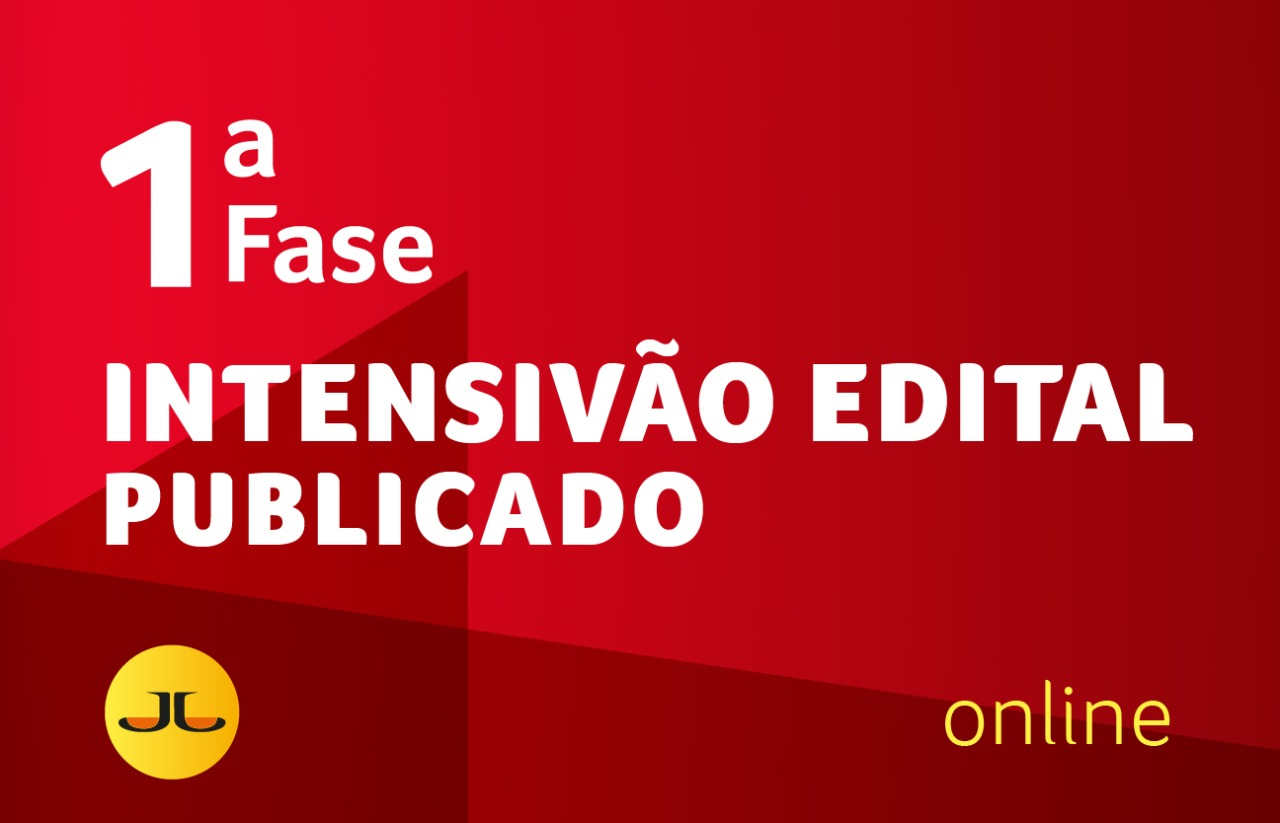 OAB INTENSIVÃO - EDITAL PUBLICADO | ONLINE | XXXII E.O.