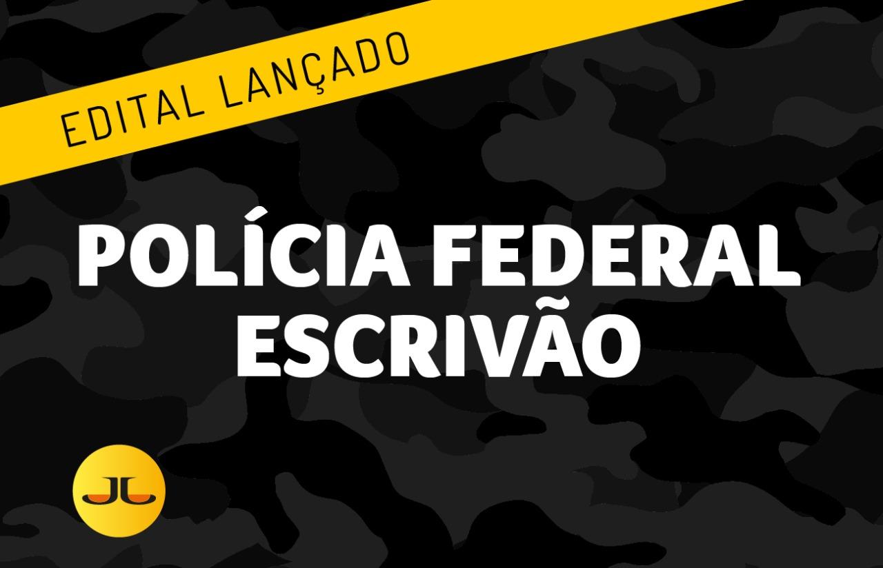 ESCRIVÃO DE POLÍCIAFEDERAL