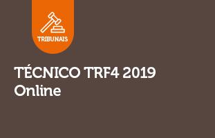 Técnico TRF4 2019 | ONLINE