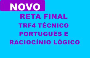 Reta Final TRF4 Técnico - Principais Disciplinas | ONLINE
