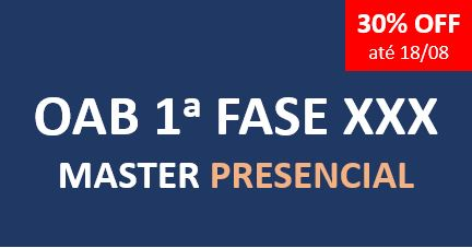 Master | XXX Exame da Ordem | PRESENCIAL