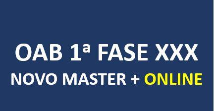Novo Master Mais | XXX Exame de Ordem | ONLINE