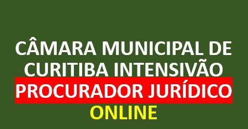 Câmara Municipal de Curitiba - Procurador Jurídico | ONLINE