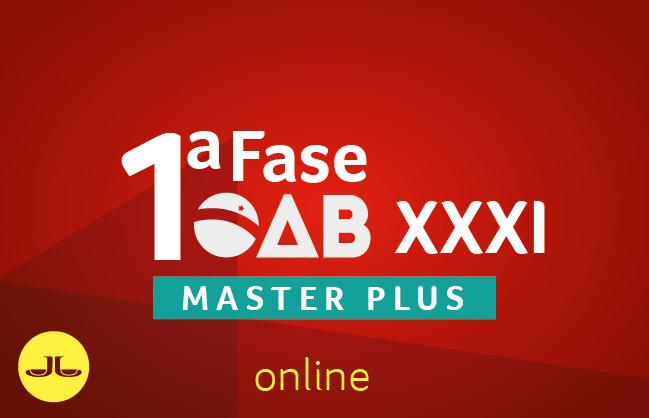 Novo Master Mais | XXXI Exame de Ordem | ONLINE