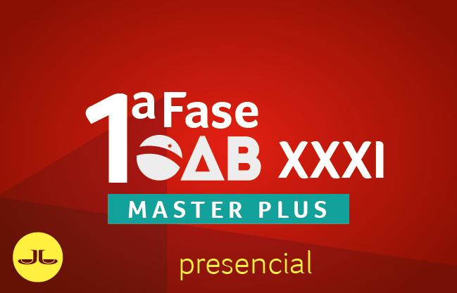Novo Master Mais | XXXI Exame de Ordem | PRESENCIAL
