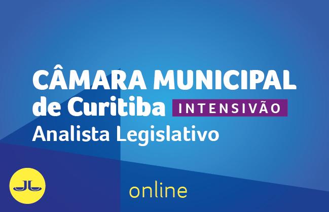 Câmara Municipal de Curitiba - Analista Legislativo | ONLINE