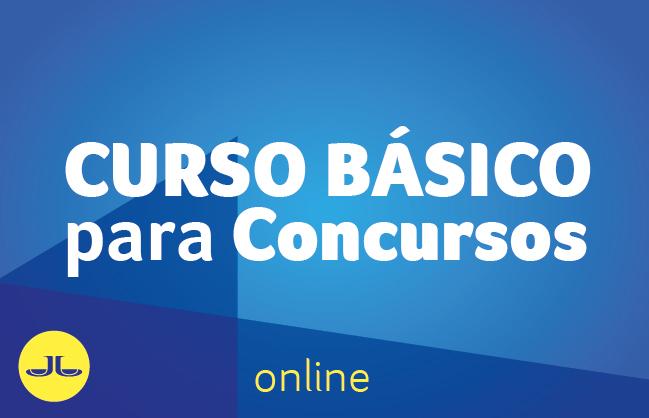 CURSO BÁSICO PARA CONCURSOS