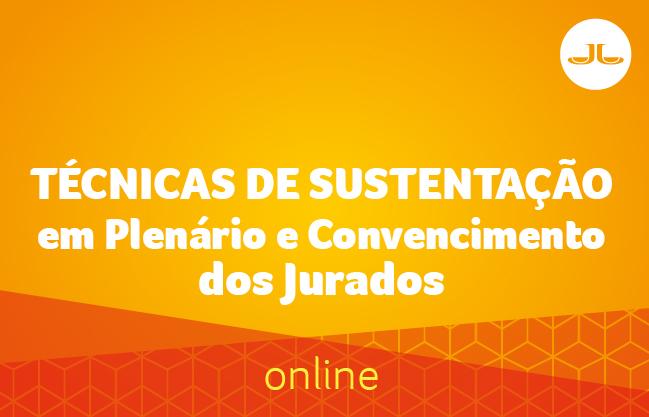 Técnicas de Sustentação em Plenário e Convencimento dos Jurados