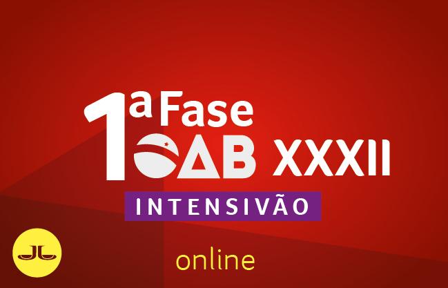 OAB Intensivão | ONLINE | XXXII E.O.