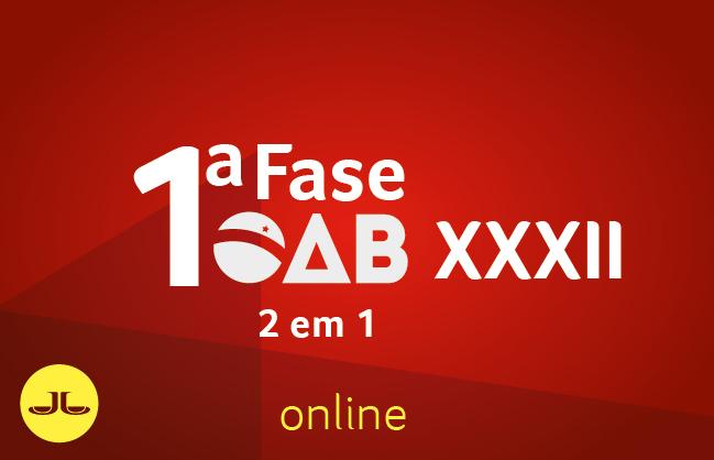 OAB 2 EM1 | ONLINE | 1ª fase XXXII E.O.