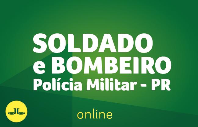 Soldado e Bombeiro da PM-PR  ONLINE