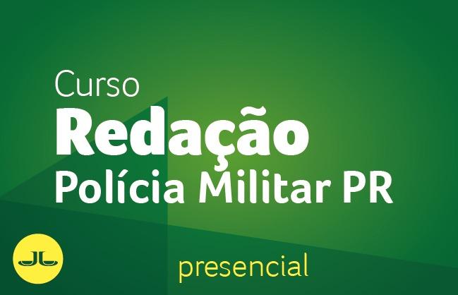 Curso de Redação para a PM/PR - PRESENCIAL