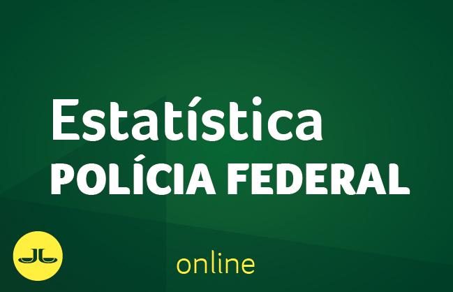 Estatística | POLÍCIA FEDERAL