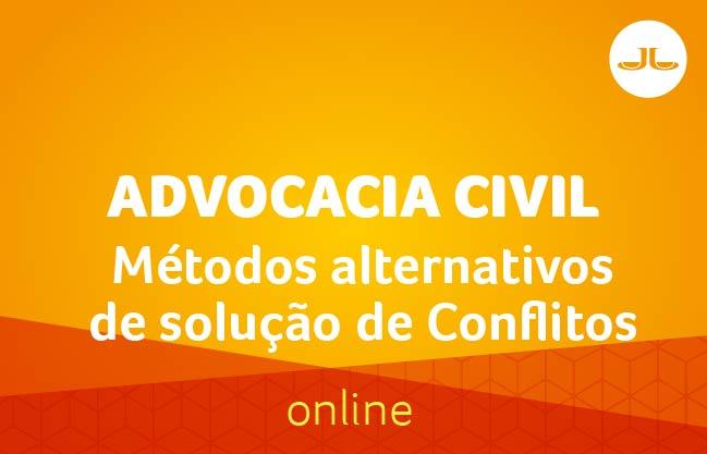 Métodos alternativos de solução de Conflitos